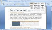 كتابة وتحرير النصوص عربي وانكليزي على برنامج الوورد