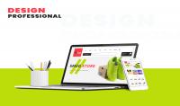 تصميم واجهات موقعك بإحترافية شديدة ورقي في التصميم PSD