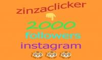 2000 متابع على انستغرام جودة عالية ومتفاعلين