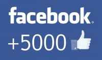 5.000 معجب حقيقي 100% لصفحتك علي الفيسبوك