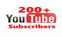 200 مشترك على يوتوب في يوم واحد فقط ب 5$ سعر الخدمة :5$