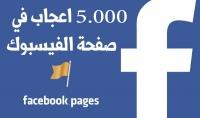 زيادة 5000 معجب بصفحتك على الفيسبوك حقيقية و امنة