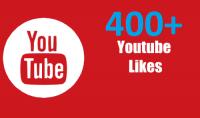 400 لايك حقيقي وآمن لأي فيديو يوتيوب