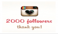 أضيف لك 2000 متابع على انستغرام حقيقى متفاعل 100%