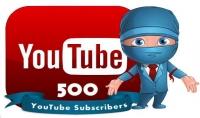 أضافة 500 مشترك لقناتك على اليوتيوب