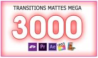 3000 آلاف إنتقال فيديو إحترافى لجميع برامج المونتاج