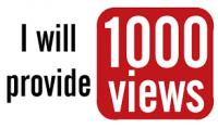 1000 مشاهدة يوتيوب حقيقية 100% في اقل من 24 ساعة