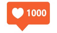 1000 لايك على صورتك في الانستغرام