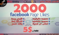 اضافة 2000 معجب عربي حقيقي متفاعل علي اي صفحة فيسبوك