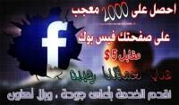 2000 اعجاب لصفحة الفيسبوك