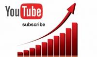 1000 مشترك اجنبي لليوتيوب فقط 10$