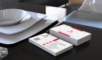 تصميم   Business card   كارت شخصى بشكل إبداعى محترف وجهين مع تسليم الملف الخاص بالتصميم الكامل