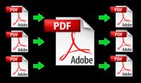 فصل وتجميع ملفات PDF  كل 30 صفحة 5$