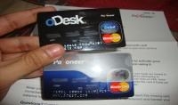 بطاقة ماستركارد من بايونير