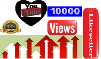 10000 مشاهده علي اليوتيوب مقابل 15 دولار