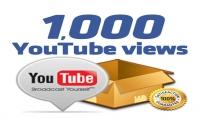 اقدم لك 1000مشاهده يوتيوب بن 5 دولار