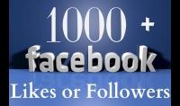 إضافة 1000 لايك على صفحتك بالفيسبوك بسرعة وبجودة عالية