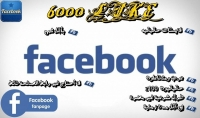 6000 معجب عربي لصفحتك علي الفيس بوك 100%