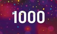 1000 مشترك انستقرام