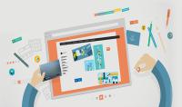 تصميم قالب موقع الكتروني بلغة HTML5 وCSS3 قابل للتعديل.