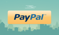 حساب بايبال paypal مفعل يرسل ويستقبل الاموال