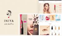 قالب Iniya v1.1 لمستحضرات التجميل و العناية بالبشرة ووردبريس