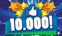 10.000 لايك لصفحتك عرب ونشطون 100%   1000 لمنشوراتك بــ 5$