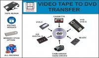 تفريغ شرائط الفيديو الى CD بجميع انواعها بحيث تعمل على الكمبيوتر و DVD 0000الخ