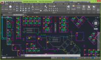 رسم مخطط معماري بالاوتوكاد