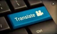الترجمه من اللغه الانجليزيه الي اللغه العربيه