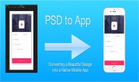 تحويل تصميم واجهة تطبيق أندرويد ملف فوتوشوب بصيغة PSD إلىXML بدقة عالية