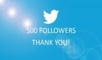 احصل علي 500 متابع حقيقي لحسابك في تويتر جودة عالية