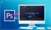 تحويل PSD إلى وجهات HTML5 Css3 متجاوبة باستخدام Bootstrap4 ب5$ لصفحة الPSD.