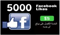 5000 لايك سريع للصور و المنشورات ع الفيس بوك مقابل 5 دولار