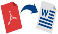 تحرير ملفات الPDF و تحويلها الى ملفات الword   خمس صفحات هدية لثلاث المشتريين الاولين