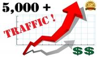 احصل على 5000 زائر لموقعك او مدونتك كل ما عليك هو ان تعطينى رابط الموقع