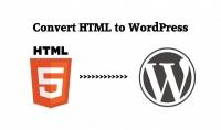تحويل قالبك من html الي وردبريس اوانشاء لوحه تحكم له
