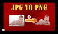 حذف خلفية الصوره و تحويلها الي PNG