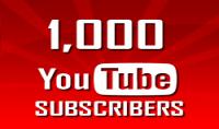 اضافة 1000 متابعة و 1000 لايك علي يوتيوب