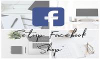 اعداد متجر الكتروني على صفحتك على فيسبوك Facebook shop