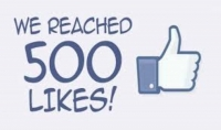 احصل على 500 لايك لصفحتك أو منشورك على الفيس بوك