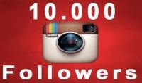 اقدم لك 10k  متابع على الانستجرام ب 15 $ بضماان 100%
