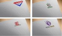 تصميم 3 شعارات احترافية لك Logo