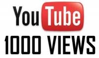 1000 مشاهدة حقيقية لقناتك على اليوتيوب