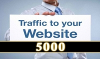 جلب 5000 زيارات لموقعك و تخفيظ ترتيبك على موقع اليكسا فقط ب 5$