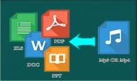 تحويل أي ملف صوتي أو فيديو إلى ملف word أو pdf