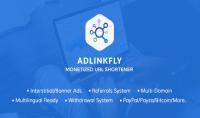 تفعيل سكربت Adlinkfly لاختصار الروابط مقابل 10 دولار فقط