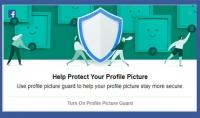 اضافة درع الفيسبوك لصورتك الشخصية