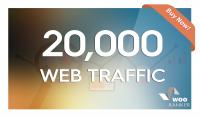 احصل على 20000 زائر لموقعك او مدونتك