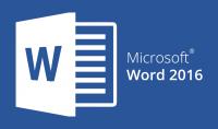 كتابة وتنسيق النصوص علي Word 2016